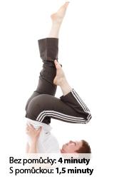 Cvičení svalů - Lezení po stěně