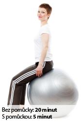 Cvičení svalů - Nahoru a dolů