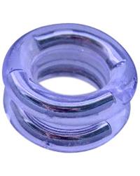 Dvojité škrtící kroužky na penis pro zesílení erekce
