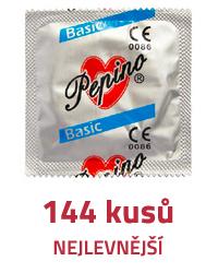 Veliké maxi balení kondomů - 144 kusů - Levně!