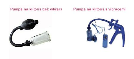 Vakuová pumpa na klitoris